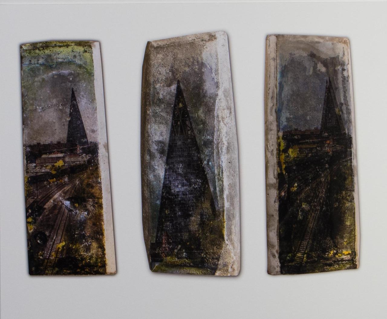 Van Obras, Pablo Zafra, 2018. Fototransferência, 50 x 45 cm, fotografia sobre pvc.