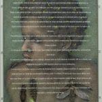 """""""na noite dos seus cabelos os grampos são feitos de pirilampos que às estrelas querem chegar"""" / viajantes em Santa Catarina, Walmor Corrêa, 2016. Acrílico sobre tela, 27,5x36cm."""
