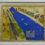 Impressões [memórias de viagem] Heidelberg, Paulo Gaiad, 1999. Pintura, colagem e desenho sobre tela, 63x54cm.