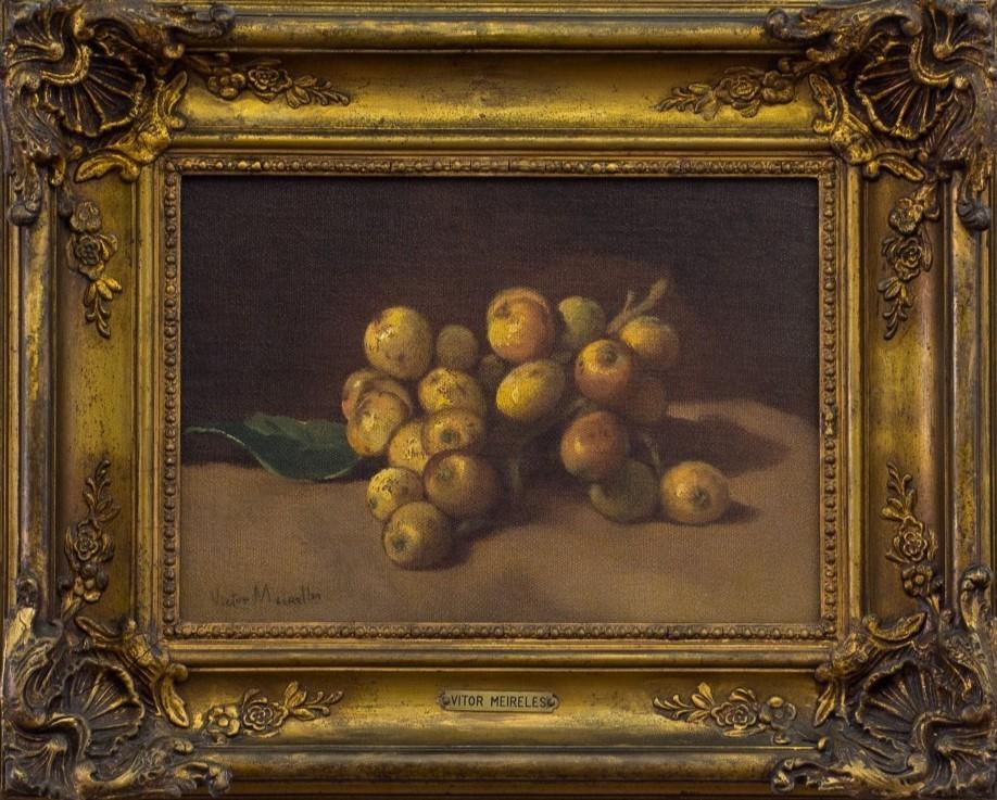Nêsperas, Victor Meirelles de Lima, sdata. Óleo sobre tela, 42,5x34cm.