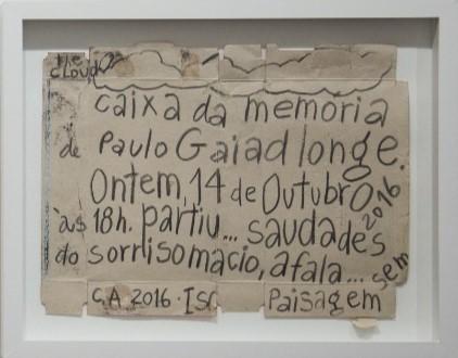 Sem título, Carlos Asp, 15.10.2016. Desenho sobre papel, 38x30cm.