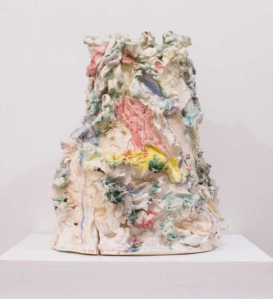 Sem título, Gabriela Machado, 2014. Porcelana policromada, dimensões variadas.