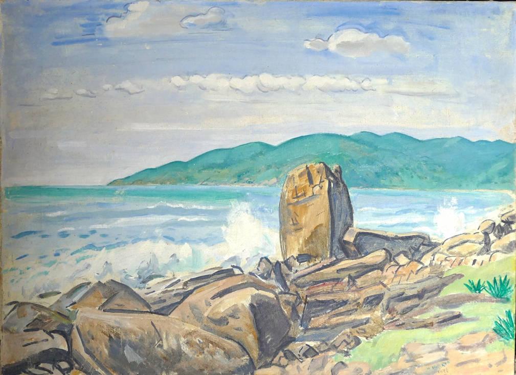 [43] Morro das Pedras, 1946. Martinho de Haro [1907-1985]. Coleção Catarina. Fonte Ylmar Corrêa Neto.