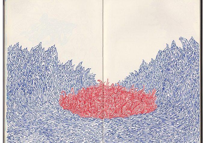 Rios-mentais-2017.-Desenho-com-caneta-hidrgrafica-sobre-sketchbook-digitalizado-e-impresso-ampliado-42x52cm.-Pigmento-mineral-sobre-papel-Hahnemuhle-Enhanced.